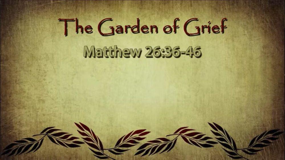 The Garden of Grief (3/28/2021)
